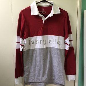 Long sleeve ivory Ella t-shirt